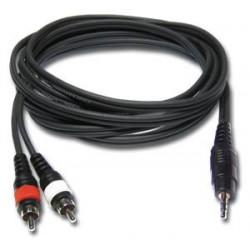 Location Câble JACK 3.5 / RCA - pour branchement PC