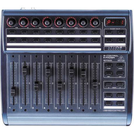CONTROLEUR MIDI BCF 2000 BEHRINGER
