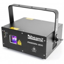 Laser Professionnel Pandora 1200 TTL RGB BeamZ