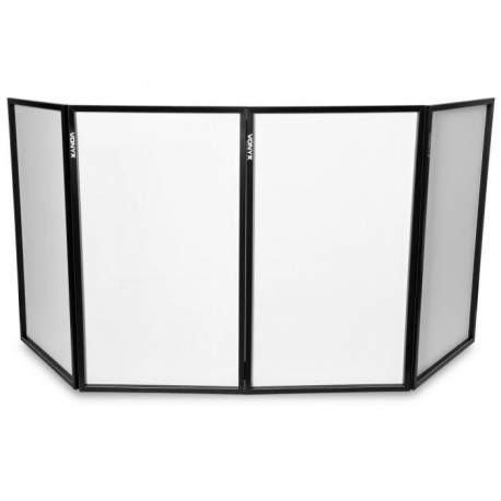 Ecran DJ dépliable 120 x 70 (4 panneaux)