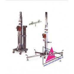 Location pied lumiere VMB074 hauteur 5 mètres 35 poids 200 Kg