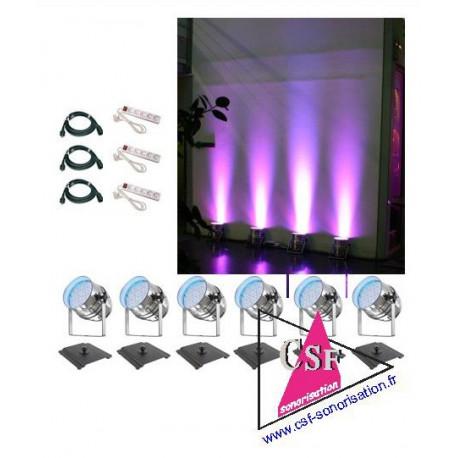 Location pack décoration 02 - pour une salle de 80 / 150 personnes