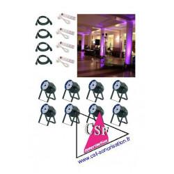 PACK DECO 06 - Pour une salle de 500 personnes