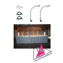 PACK DECO 07 - Eclairage de vos tables, buffets, cadres photos expo, etc.