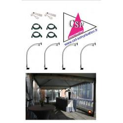 Location pack décoration 08 - Eclairage de vos tables, buffets, cadres photos expo, etc.