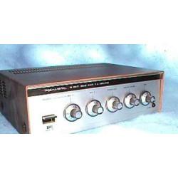 Location AMPLIFICATEUR 12 Volts / 35 watt / 4 Ohms + 2 CORNETS 15 watt