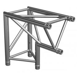Location structure aluminium triangulaire PT29 angle 90° 2 directions