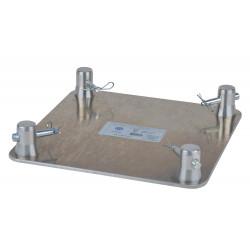 Location platine de sol leger pour structure aluminium carrée PTC29