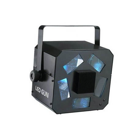 Location effet lumienux à led LED GUN CONTEST - multi-faisceaux de couleurs