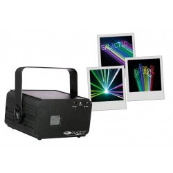 Location laser couleur GALACTIC TXT SHOWTEC